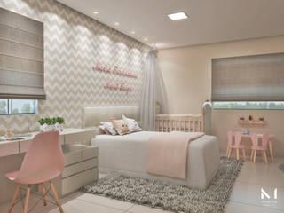 Reforma quarto infantil para duas irmãs.: Quartos das meninas  por Marília R. S. Arquitetura,Moderno