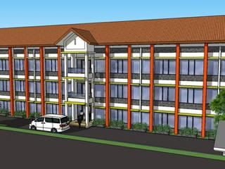 Perspektif Tampak Hotel:   by Amirul Design & Build
