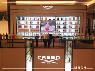 Creed Boutique de MNGN DISEÑO & ARQUITECTURA Moderno