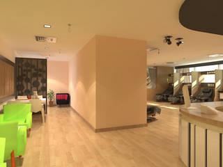 งานตกแต่งภายใน ACRO Ward Center:   by raintree design studio