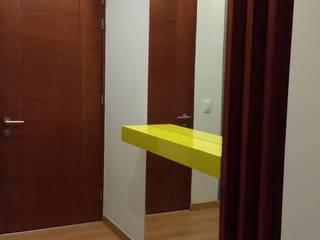 REMODELACIÓN DE DPTO EN SANTA BEATRIZ Salas modernas de ABC construye Moderno