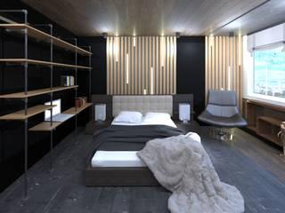 Camera da letto in stile  di Non Solo Design, Industrial