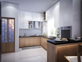 kitchen-1 Modern kitchen by homify Modern