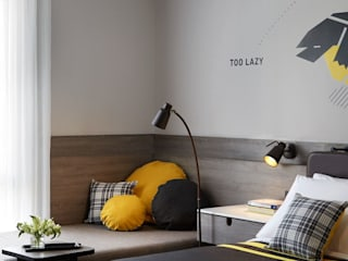 Dormitorios de estilo  de LEDS C4, Moderno