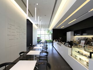 Moderne Ladenflächen von G.T. DESIGN 大楨室內裝修有限公司 Modern