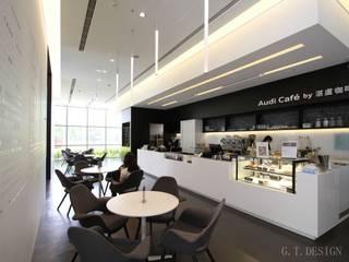 Moderne Geschäftsräume & Stores von G.T. DESIGN 大楨室內裝修有限公司 Modern