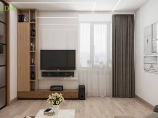 Современная 3-х комнатна квартира в  ЖК Битцевские холмы:  в . Автор – ЕвроДом