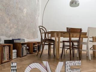 Lettere Decorative in legno:  in stile  di Decoramo