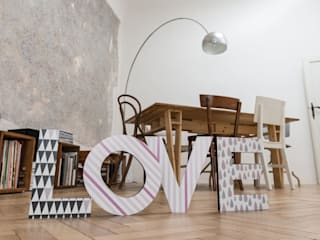 Lettere in legno di Decoramo Scandinavo