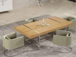 Zona de refeições...: Salas de jantar  por Casactiva Interiores