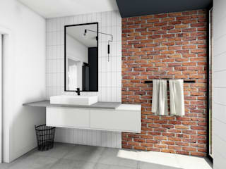 Offa Studio Modern style bathrooms