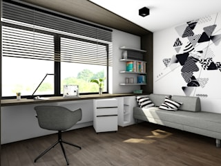 Study/office by Offa Studio, Modern