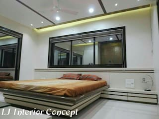 Narayan Elite - Vadodara: modern  by LJ Interior Concept,Modern