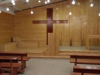 Iglesia Evangelica Armada Chile Oficinas y bibliotecas de estilo moderno de Decosuelos Moderno