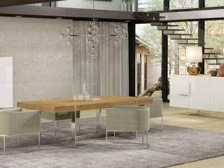 A arte de bem receber...: Salas de jantar  por Casactiva Interiores