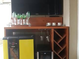 Sacada Gourmet por Ajala Arte Comercio de móveis e decorações ltda Rústico