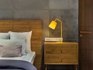 Open House Industrial style bedroom by Studio Nishita Kamdar Industrial