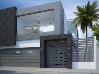 Proyecto JM: Casas unifamiliares de estilo  por Arq. Alejandro Garza