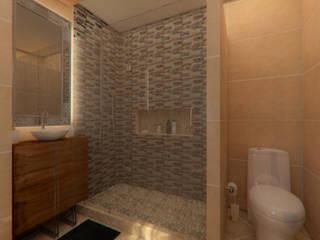 Remodelacion Baño: Baños de estilo  por Arq. Alejandro Garza ,