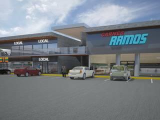 Locales Comerciales : Espacios comerciales de estilo  por Arq. Alejandro Garza ,