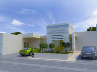 Centro de Estudios Medicos: Clínicas / Consultorios Médicos de estilo  por Arq. Alejandro Garza ,