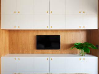 Apartamento BON Quartos modernos por DAVID ITO ARQUITETURA Moderno