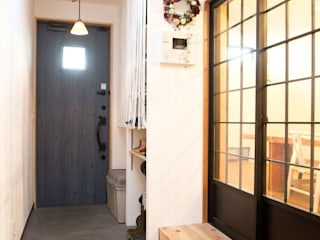 築40年木造戸建リノベーション オリジナルスタイルの 玄関&廊下&階段 の 杉工建設株式会社 オリジナル