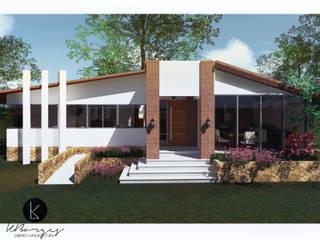 Cabaña Modular de KBorges Arquitectos Colonial