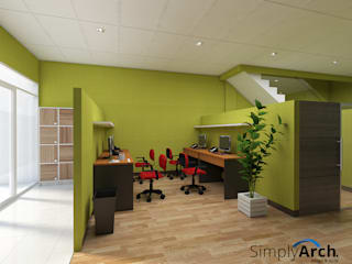 Offices & stores by Simply Arch., Minimalist
