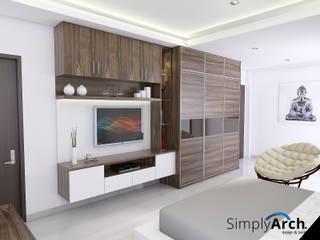 A-House Master Bedroom Furniture at Muara Karang, North Jakarta Oleh Simply Arch.