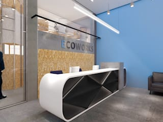 Modern offices & stores by Much Creative Communication Limited Modern