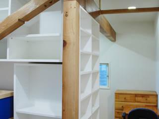 本棚の家2 モダンデザインの 子供部屋 の 株式会社YDS建築研究所 モダン