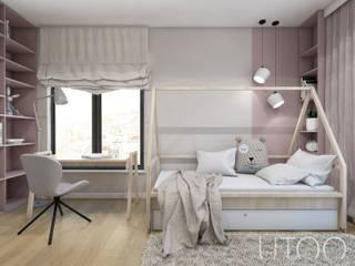 Детская комнатa в скандинавском стиле от UTOO-Pracownia Architektury Wnętrz i Krajobrazu Скандинавский