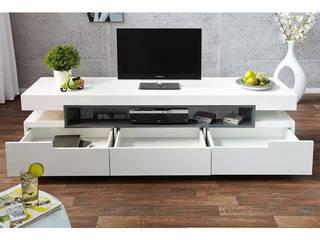 Decordesign Interiores Living roomTV stands & cabinets MDF White