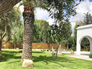 Villa C. B.A-Studio Mediterranean style garden