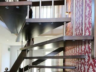 STREGER Massivholztreppen GmbH Vestíbulos, pasillos y escalerasEscaleras