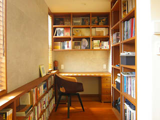 Modern Study Room and Home Office by Sデザイン設計一級建築士事務所 Modern