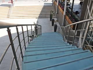 Visal Merdiven Прихожая, коридор и лестницыЛестницы Стекло