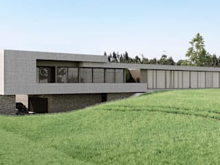 Single family home by EsboçoSigma, Lda