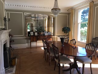 The Dining Room :  Dining room by Tailored Interiors Kent
