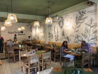 Espaços gastronômicos ecléticos por Taller La Semilla Eclético