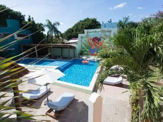 HOTEL SELINA CANCUN:  de estilo colonial por SINDO OUTDOOR, Colonial