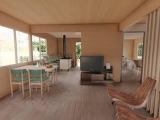 Salon de style  par Ekeko arquitectura  - Coquimbo, Moderne
