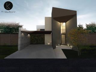 CUMBRES07 Casas modernas de KBorges Arquitectos Moderno
