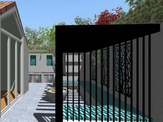 Garden Design Hindhead, Surrey Linsey Evans Garden Design Jardines de estilo moderno