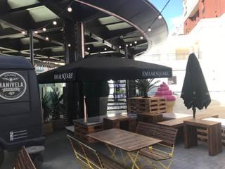 Akaydın şemsiye Modern Terrace Aluminium/Zinc Black