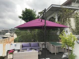 Akaydın şemsiye Garden Pool Aluminium/Zinc Purple/Violet