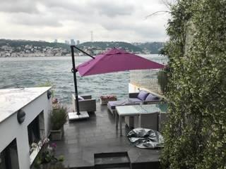 Akaydın şemsiye Modern Pool Aluminium/Zinc Purple/Violet