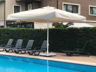 Akaydın şemsiye Garden Pool Aluminium/Zinc White