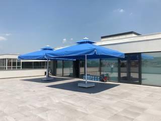 Akaydın şemsiye Modern Terrace Aluminium/Zinc Blue
